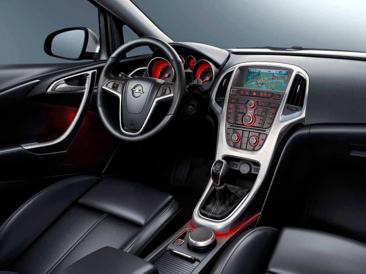 Opel Astra J 1.4 (140 Hp) Turbo